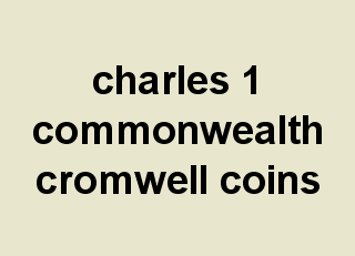 charles 1 coins